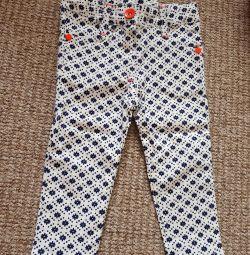 Jeans pentru 9-12 luni, nou