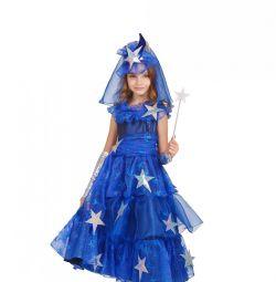 Детский карнавальный костюм Фея звездная