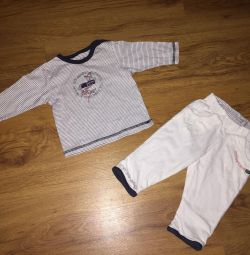 Costume Timberland (size 3 months)
