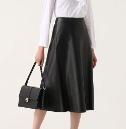 Skirt leather Zola