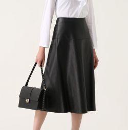 Skirt leather Zola