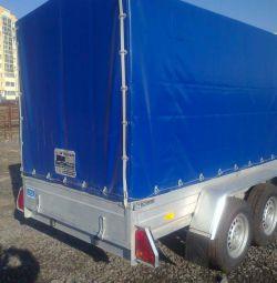 Rydwan biaxial trailer