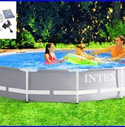 Pool Frame Original 366x76cm + filter pump