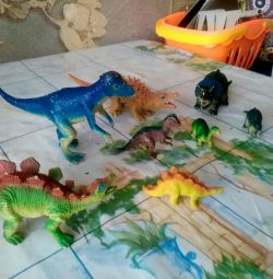 Динозавры игрушки 8шт