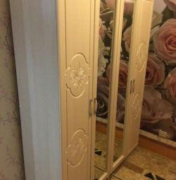 4-door wardrobe Lily