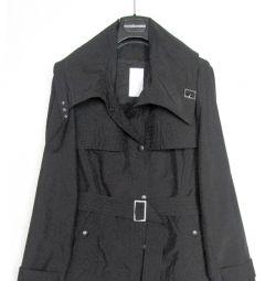 Erich Fend Crop Trench Coat