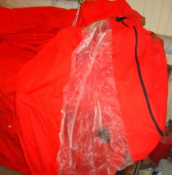 Tent 2 sleeping dressing room - red