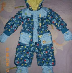 Company overalls spring-fall.