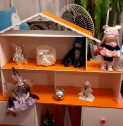 Кукольный домик-комод
