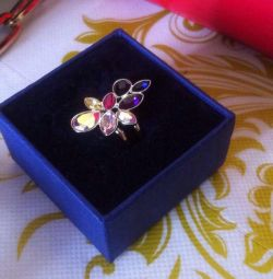 Swarovski new ring 17 size (size55)