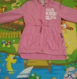 I will sell a raincoat for the girl