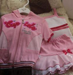New set: jacket, shirt, skirt
