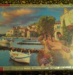 Puzzle City by the sea 500 pcs