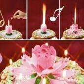 Μουσικό κέικ κερί