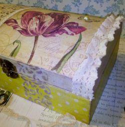 διακοσμητικό κουτί διακοσμητικό δώρο διακοσμητικό στυλ