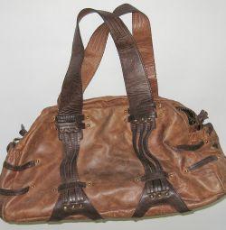 Deri çanta