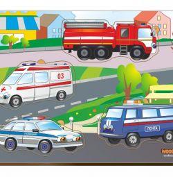 Cadru de inserție pentru vehicule speciale