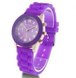 Geneva Classic wrist watch purple