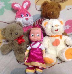 Stuffed Toys.