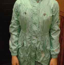 Bir kıza orjinal hafif yağmurluk (11-13 yaş)