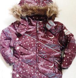 Jachetă în jos pentru copii HUPPA, utilizată, înălțime 98, fără stări