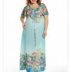 R. 62 Καλοκαιρινό μπλε φόρεμα