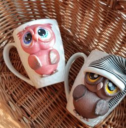 Mugs with decor