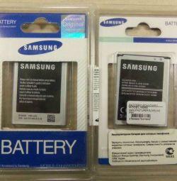 Αρχικές μπαταρίες τηλεφώνου της Samsung