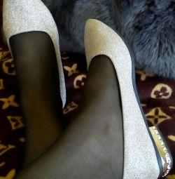Παπούτσια μπαλέτου 650r νέα