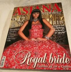 Catalog of Asian wedding fashion. London