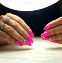 Manicure, pedicure, nail extensions