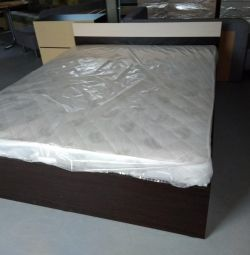 Bed with mattress (in package)
