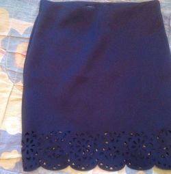 A new school skirt for a girl 8-9 years old.