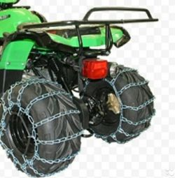 ATV snow chains