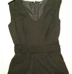 Платье женское черное повседневное 42/44