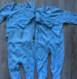 Set of clothes for a boy