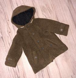 Пальто Zara на малыша 12-18 месяцев новое