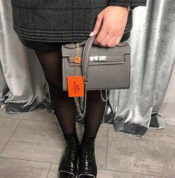 Νέα γκρι τσάντα Hermes Hermes