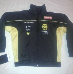 Олимпийка черная куртка