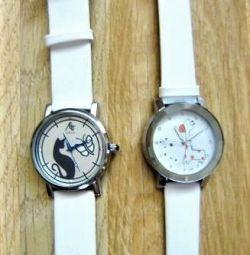 Wrist quartz watch
