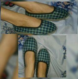 Ανδρικά πάνινα παπούτσια 2 ανταλλαγή χρωμάτων