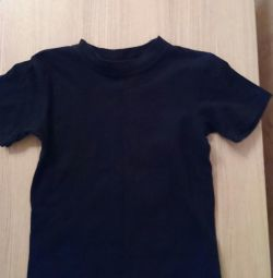 Tricou negru Amalfy 128-64
