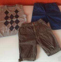 Γιλέκο, παντελόνια, μέγεθος 92-98