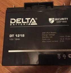 Baterie Delta 12V 18 Ah