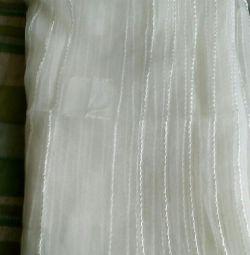White tulle