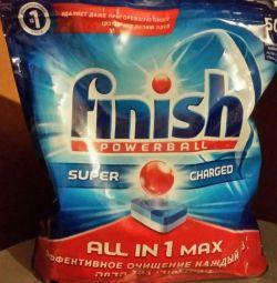 Dishwasher means Finish
