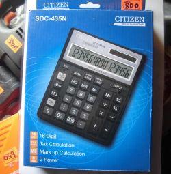 New CITIZEN SDC-435N Calculator