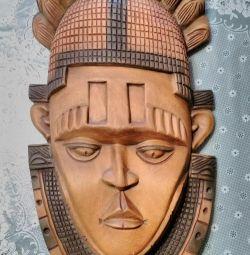 Wood mask Africa