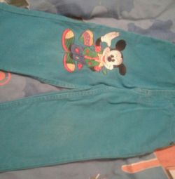 Çocuklar için kot pantolon