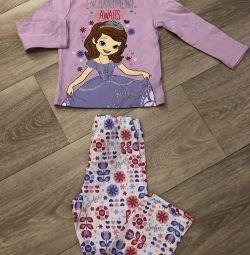 Pijamale pentru copii de la 2 la 8 ani